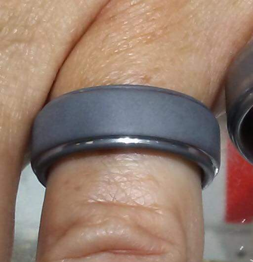 tungsten ring with laser engraving worn off after 1 year