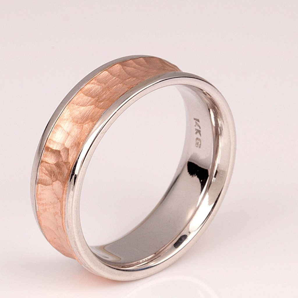 Comfort Fit Ring Vs Flat Fit Wedding Bands For Comfort Calla