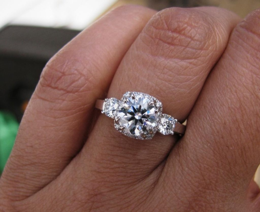 mysparkly engagement ring