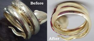 Porosity in a Snake Ring
