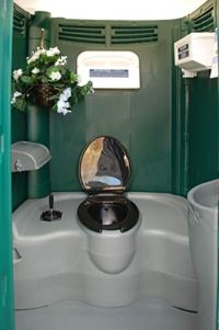 The GARDEN HEAD PORTABLE TOILET | Special Event Portable ...