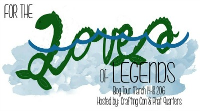 For the Love of Legends Blog Tour hosted by CraftingCon and Phat Quarters