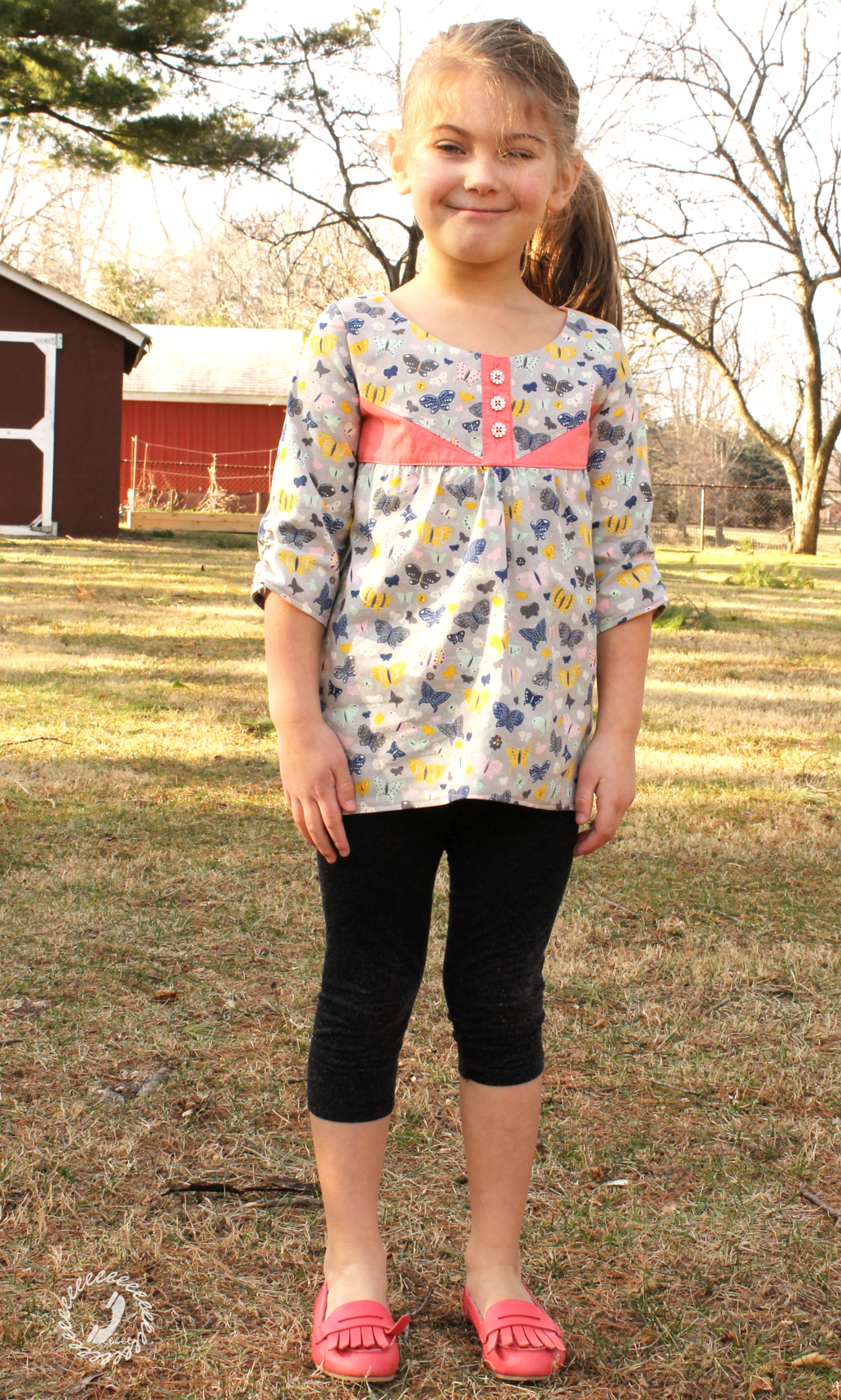 One Thimble Issue 14 Review of the e-zine Trillium Tunic main