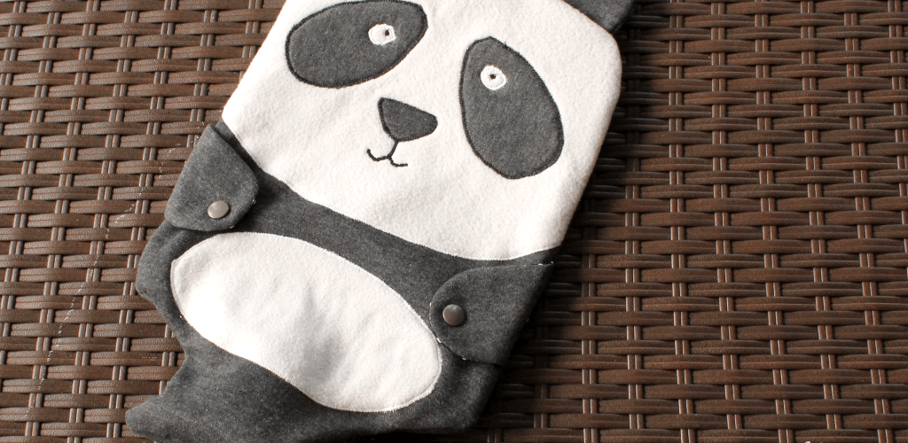 Wild Things Hottie – Pandas, Hot Water Bottles, and Being Sick