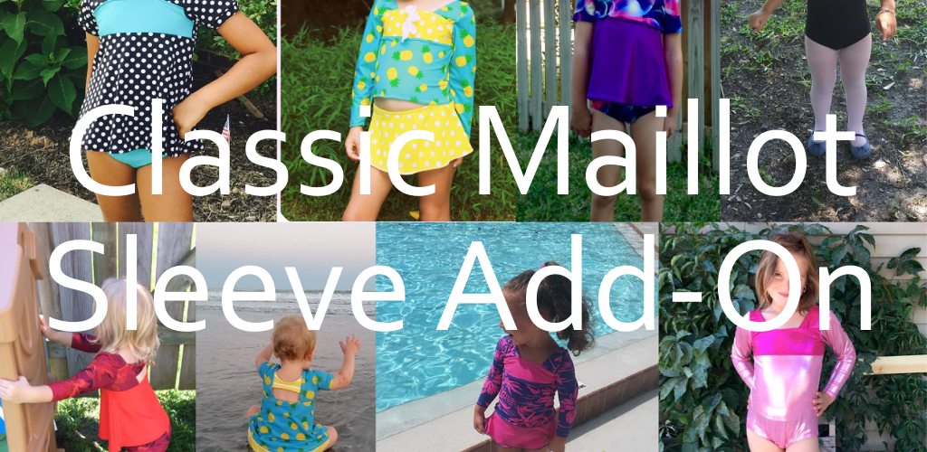 Swimsuit Edition Blog Tour – Classic Maillot Sleeve Add-On