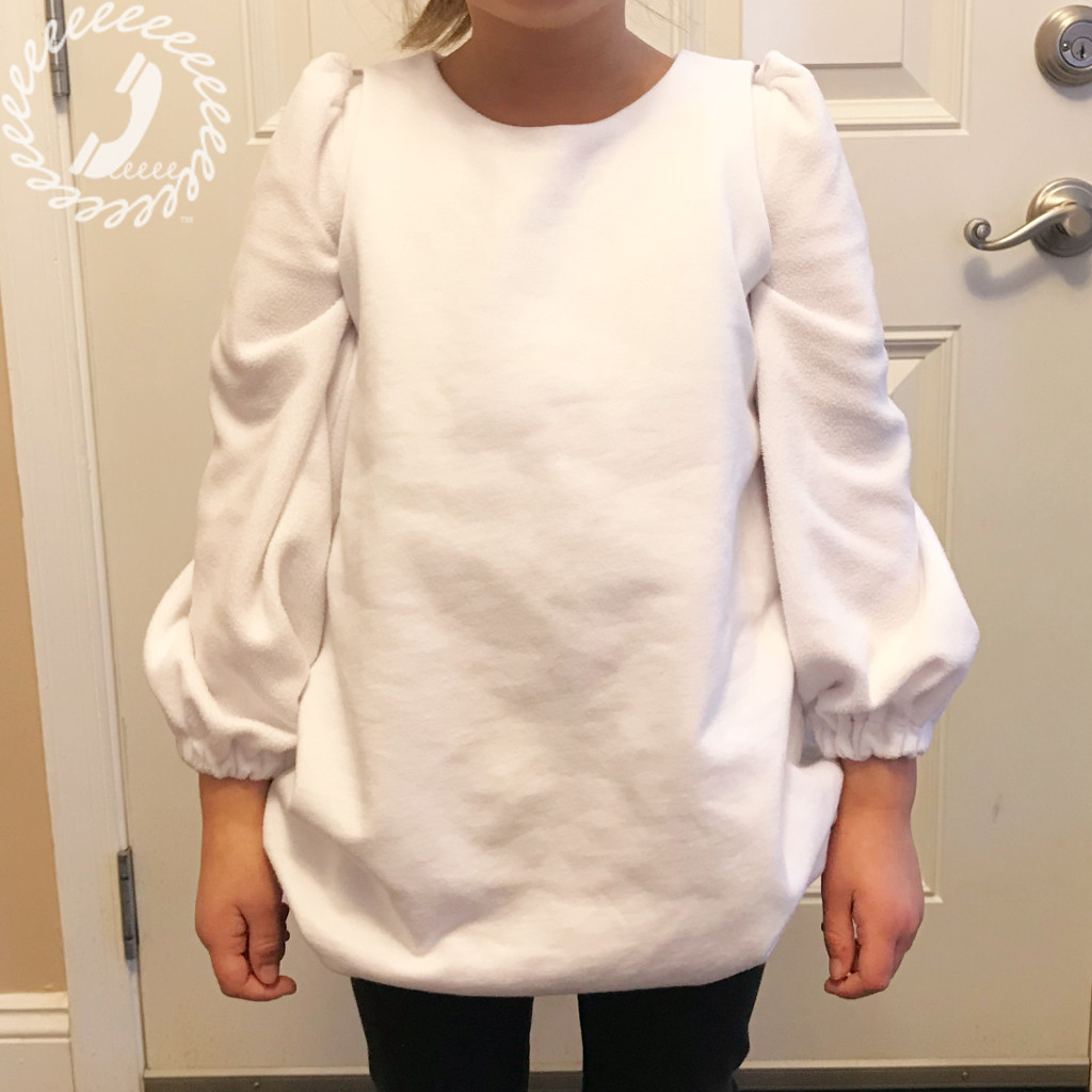 On the night jumper tunic