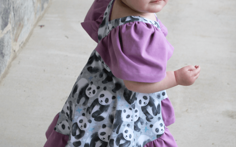 Abby's Watercolor Dress plus Project Run & Play's Spring 2020 Patterns