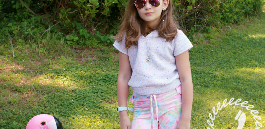 Watercolor Beach – tween approved beachwear