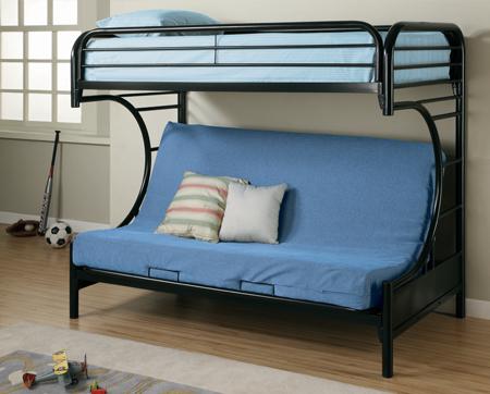 Futon Bunk Bed Boomerang Glamour