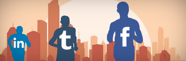 Facebook, Twitter and LinkedIn - B2B's Social Media Triathlon