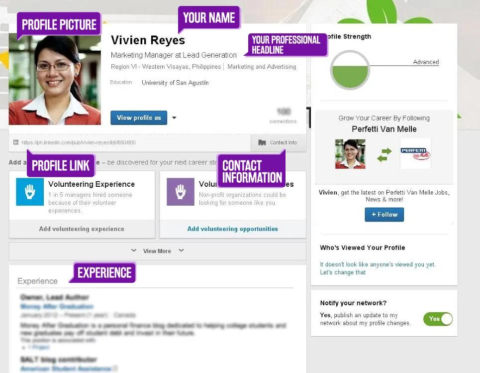 Update your LinkedIn Profile for a Better Lead Generation