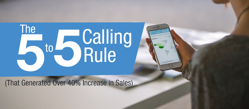 The 5 to 5 Calling Rule