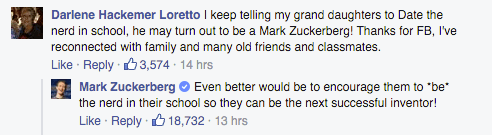 Mark Zuckerberg's Best and Inspiring Response to Grandma Becomes Viral