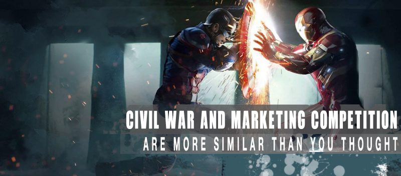 Captain America Civil War Marketing Competition are More Similar than You Thought