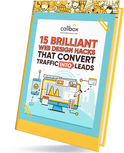 15 Brilliant Web Design Hacks That Convert Traffic into Leads eBook Cover
