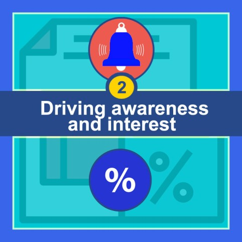 Driving awareness and interest - Lead Generation Goals