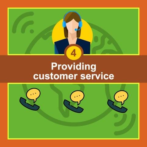 Providing Customer Service - Lead Generation Goals