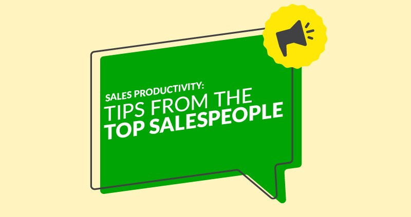 Sales Productivity: Tips From the Top Salespeople