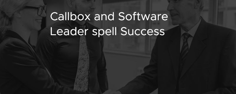 Callbox and Software Leader Spell Success [CASE STUDY]