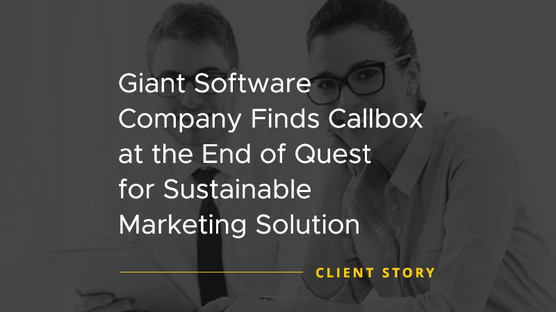 Giant Software Company Finds Callbox at the End of Quest for Sustainable Marketing Solution [CASE STUDY]