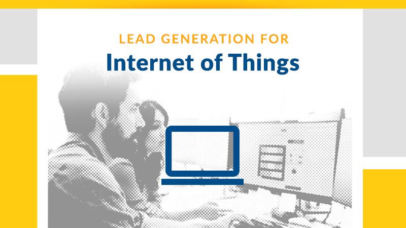 IoT Sales Lead Generation - B2B Lead Generation Services