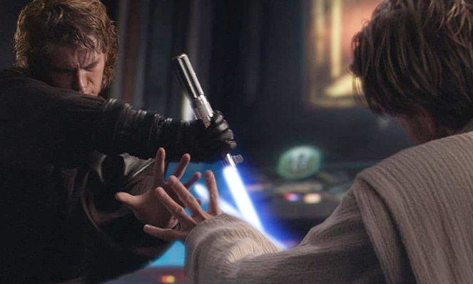 Mental Tug-of-War (Photo of Anakin)