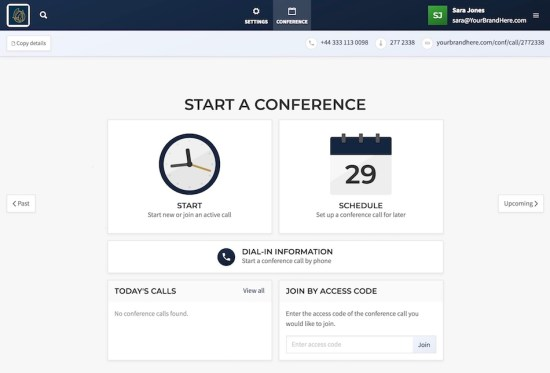 How to schedule a virtual meeting with Callbridge