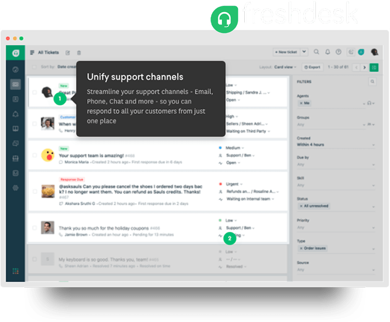 callbridge online meeting system integration with freshdesk