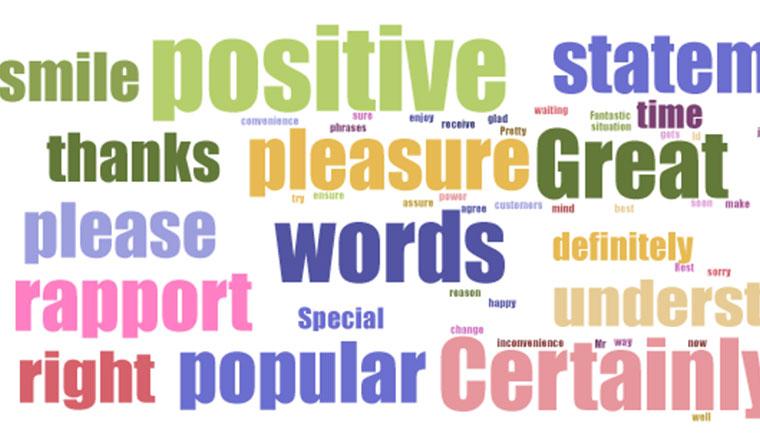 top 25 positive words