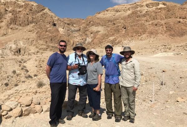 Qumran Caves where the Dead Sea Scrolls were found