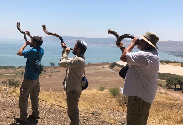 Shofars over the Galilee