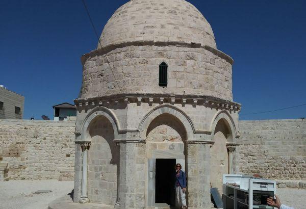 Mount of Olives ascension spot