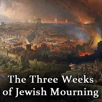 Three weeks of mourning