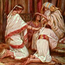 Jacob blesses Ephraim and Menassah 2