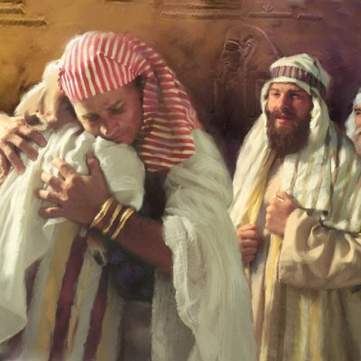 Joseph brothers reunited