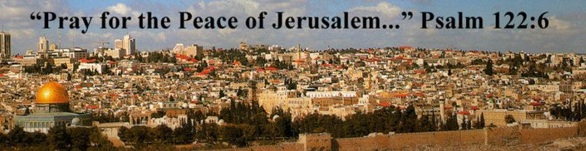 pray for the peace of jerusalem - news