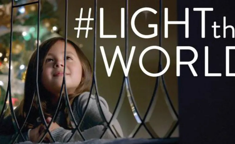 LDS Church Launches #LIGHTtheWORLD Christmas Initiative