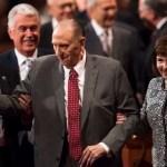 President Monson to Skip Meetings, Spokesman Cites Limitations Incident to Age