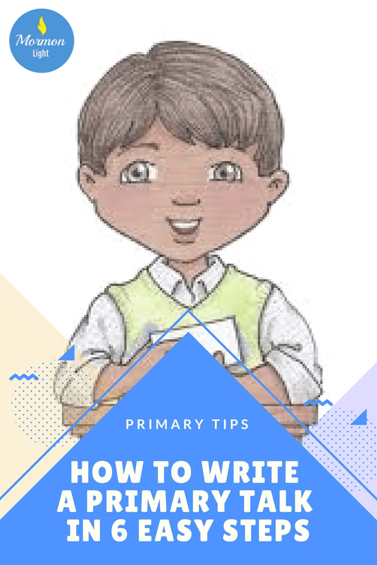 how to write a primary talk in 6 easy steps