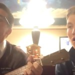 "Missionaries Sing Version of ""Nearer My God to Thee"" Ukulele Style"