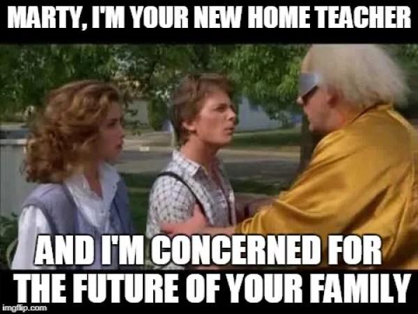 back to the future lds mormon meme 4