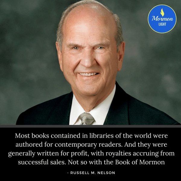 25 Quotes from President Nelson on the Power of the Book of Mormon