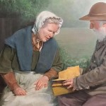 Aside from Joseph Smith, The First Person to View the Gold Plates Was a Woman