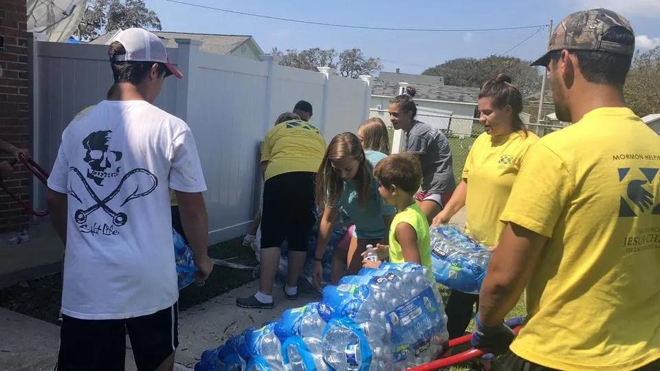 Latter-day Saints in North Carolina Serve Neighbors Following Hurricane Florence