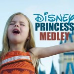 Claire Ryann With Her Greatest Video Yet Singing Disney Medley at Disney World