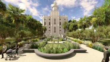 St George Temple Renovation