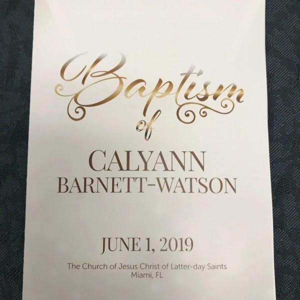 baptism of calyann barnett