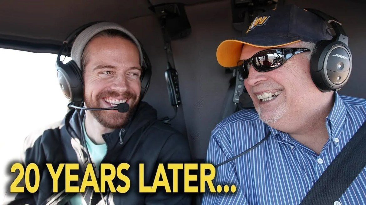 the jurgys helicopter surprise