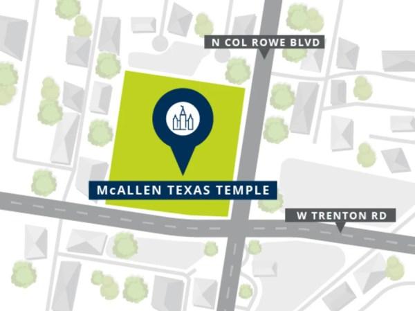 mcallen texas temple site location