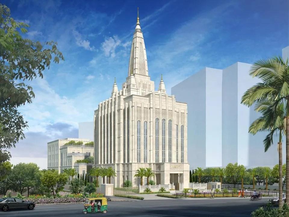 Bengaluru-Temple-exterior-rendering